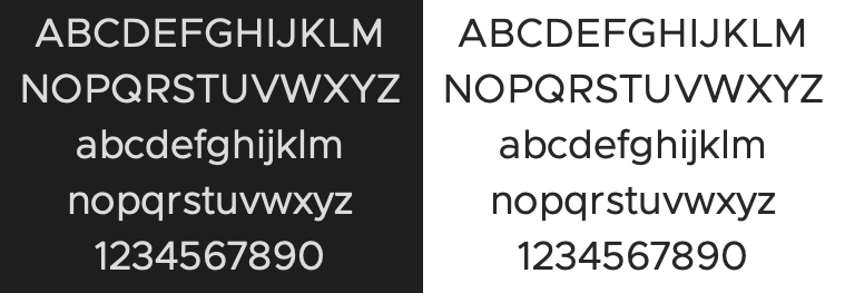 Clarity City Typeface