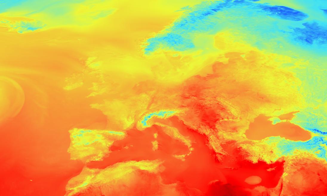 Image of borderless map
