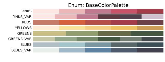 Base Color Palette
