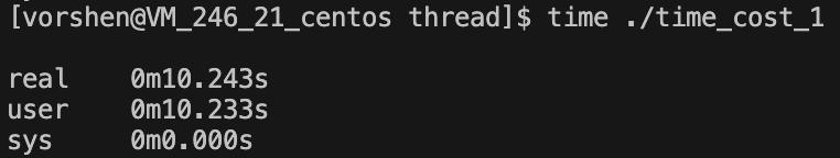 单线程执行两个耗时 5s 的操作结果
