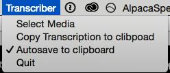 Transcriber 1