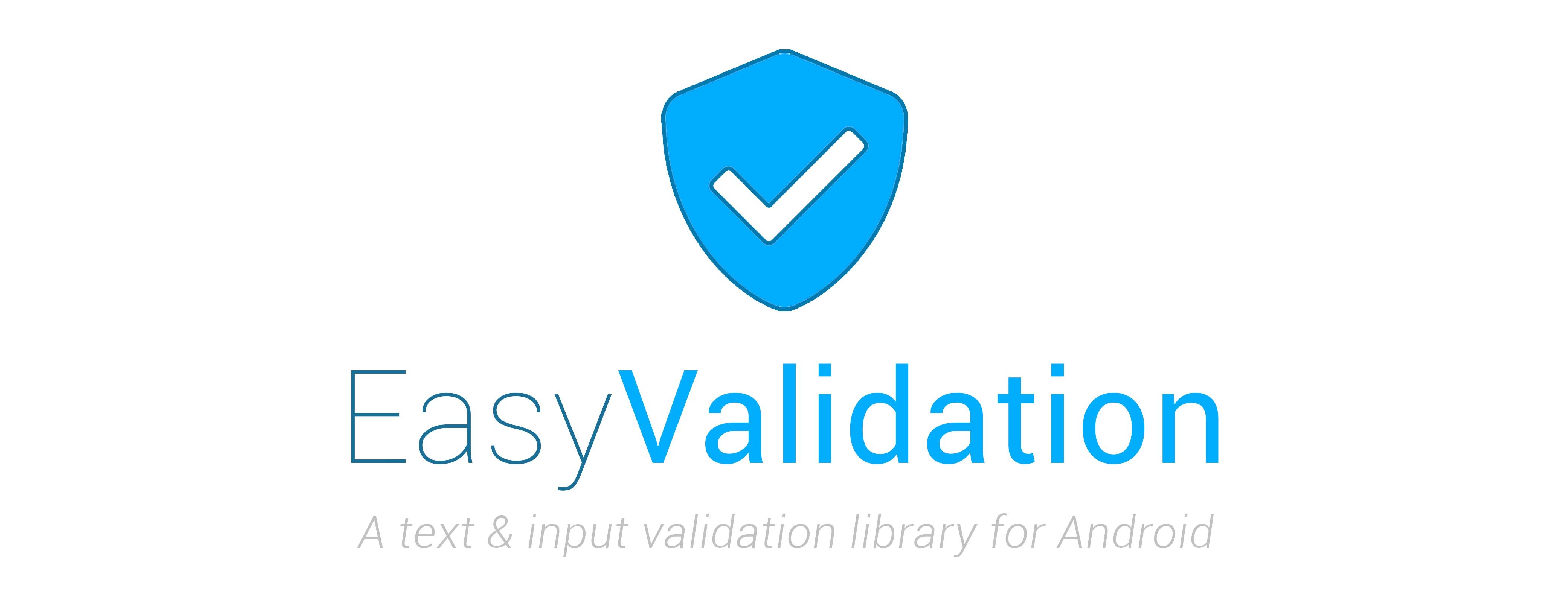 GitHub - wajahatkarim3/EasyValidation: A text and input