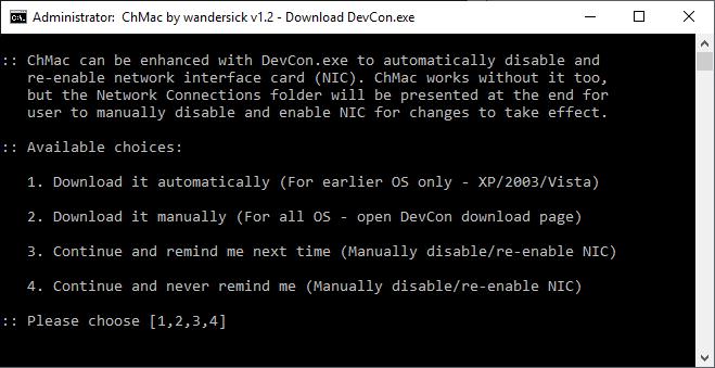 DevCon download helper