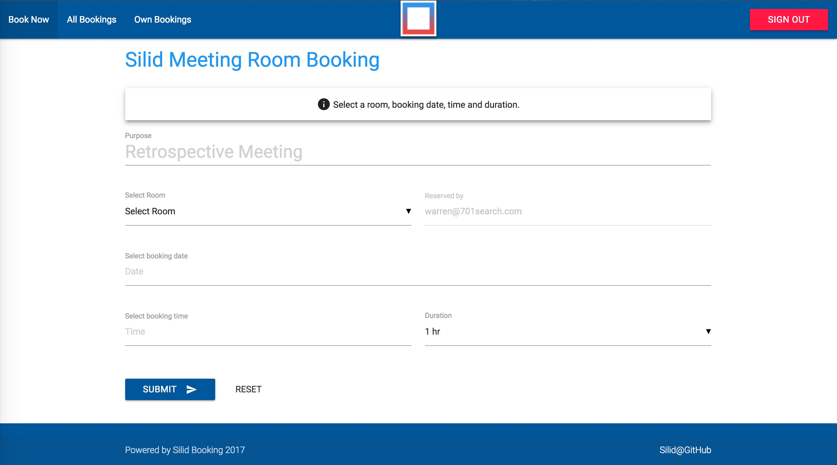 GitHub - warrenca/silid: A Meeting Room Booking