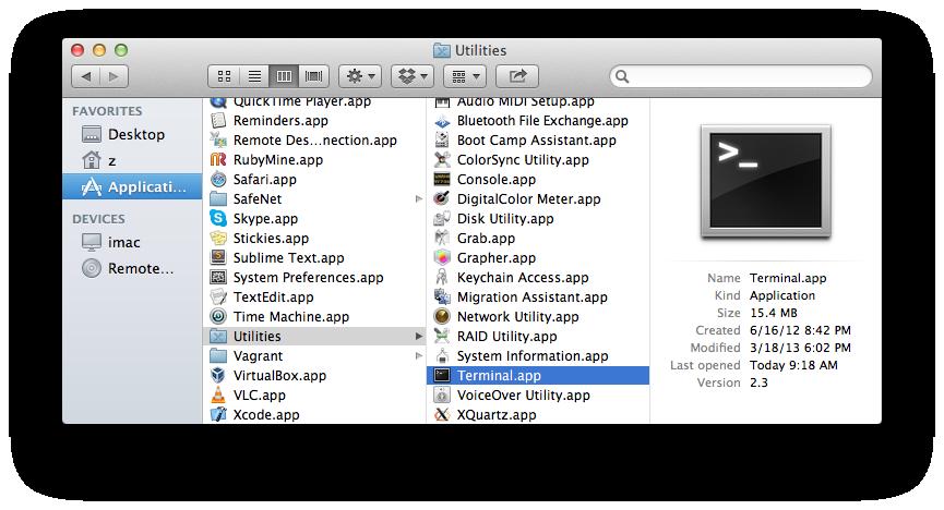 Terminal Commands for Mac - Computer File - Scribd