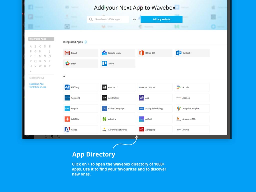 GitHub - wavebox/waveboxapp: Wavebox lets you bring all your web