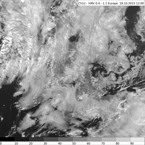 Visible Satellite Observation Map - Raw Layer