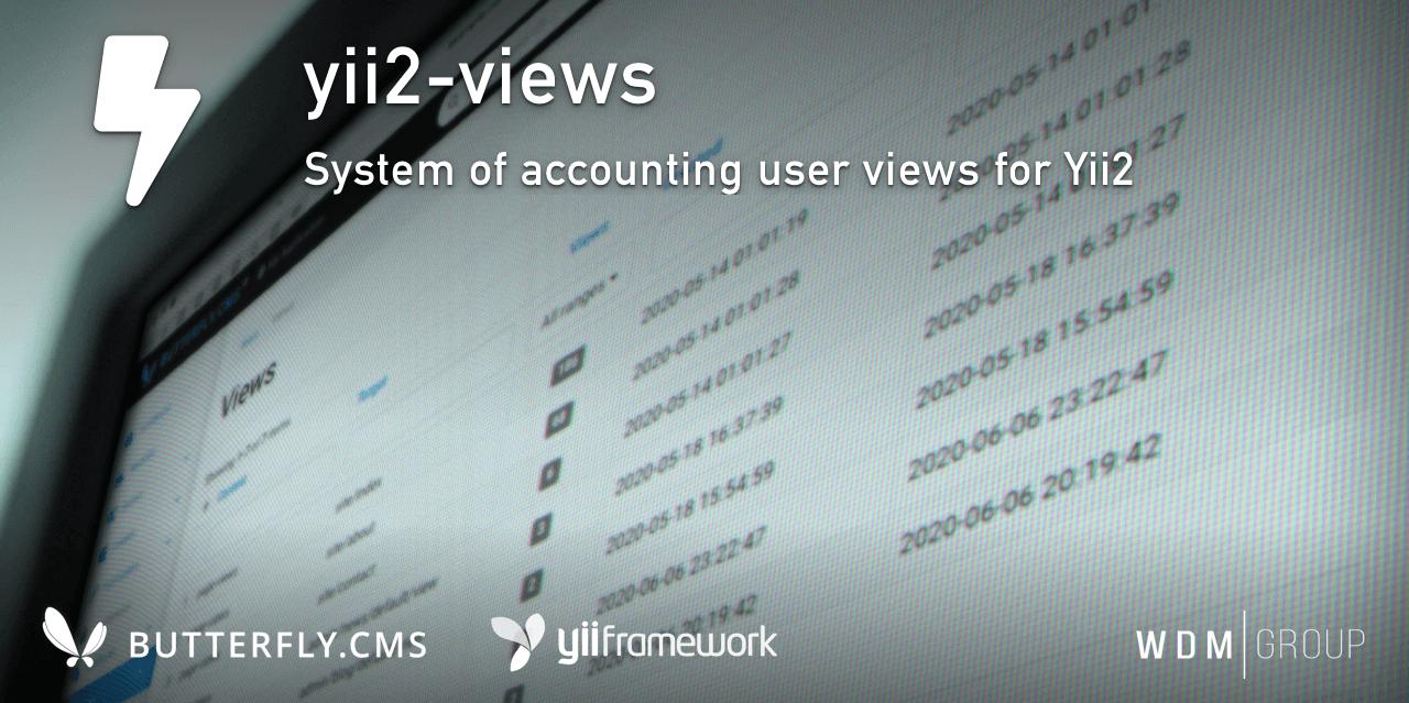 Yii2 User views