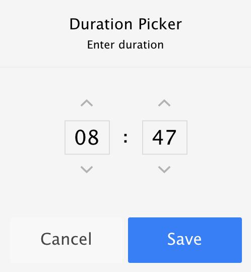 ionicPopup default configuration screenshot