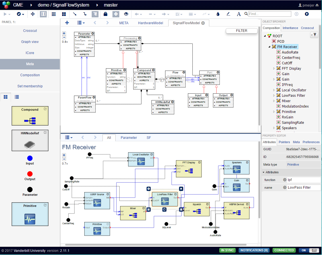 WebGME-User-Interface