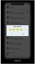Rating window screenshot Classic theme