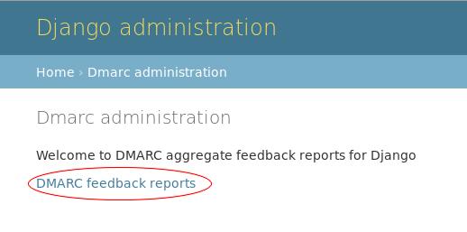 DMARC dashboard
