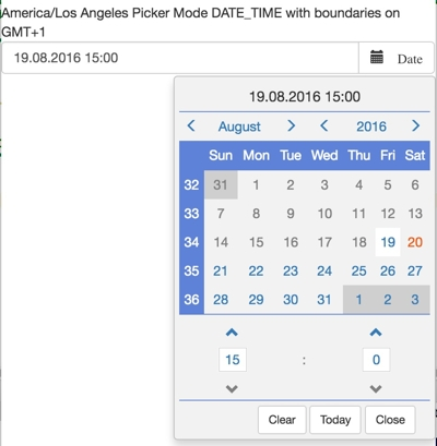 Angular 4 bootstrap datepicker format