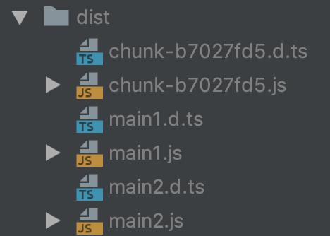 Plugin emitted code with code splitting