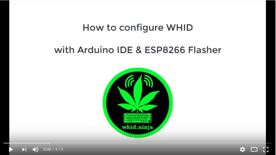 How To Install WHID Software