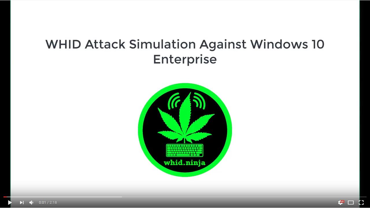 WHID's Attack Simulation