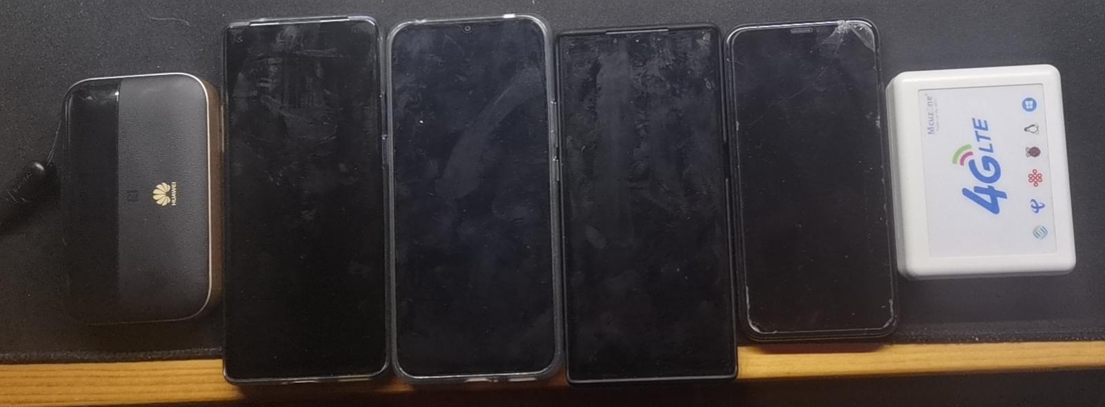 4G路由/测试手机/4G模组