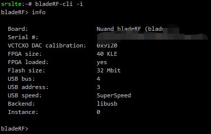 bladeRF测试
