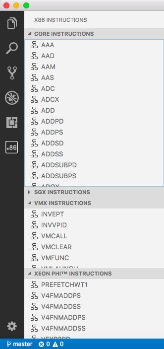 X86 Instruction Reference Visual Studio Marketplace