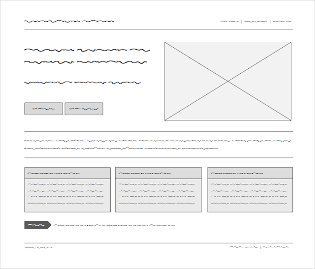 Fillr wireframe font