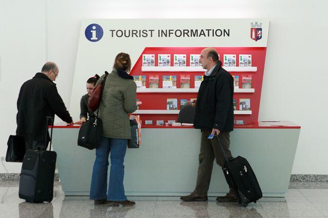 Tourist Information Kiosk