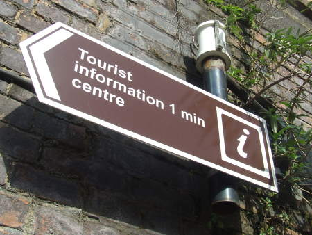 Tourist Information Signpost