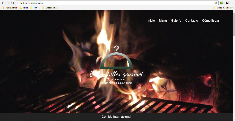Screenshot Inicio