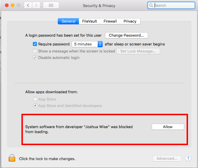 macos security and privacy
