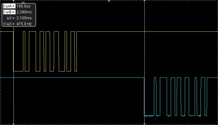 signal delay between MIDI
