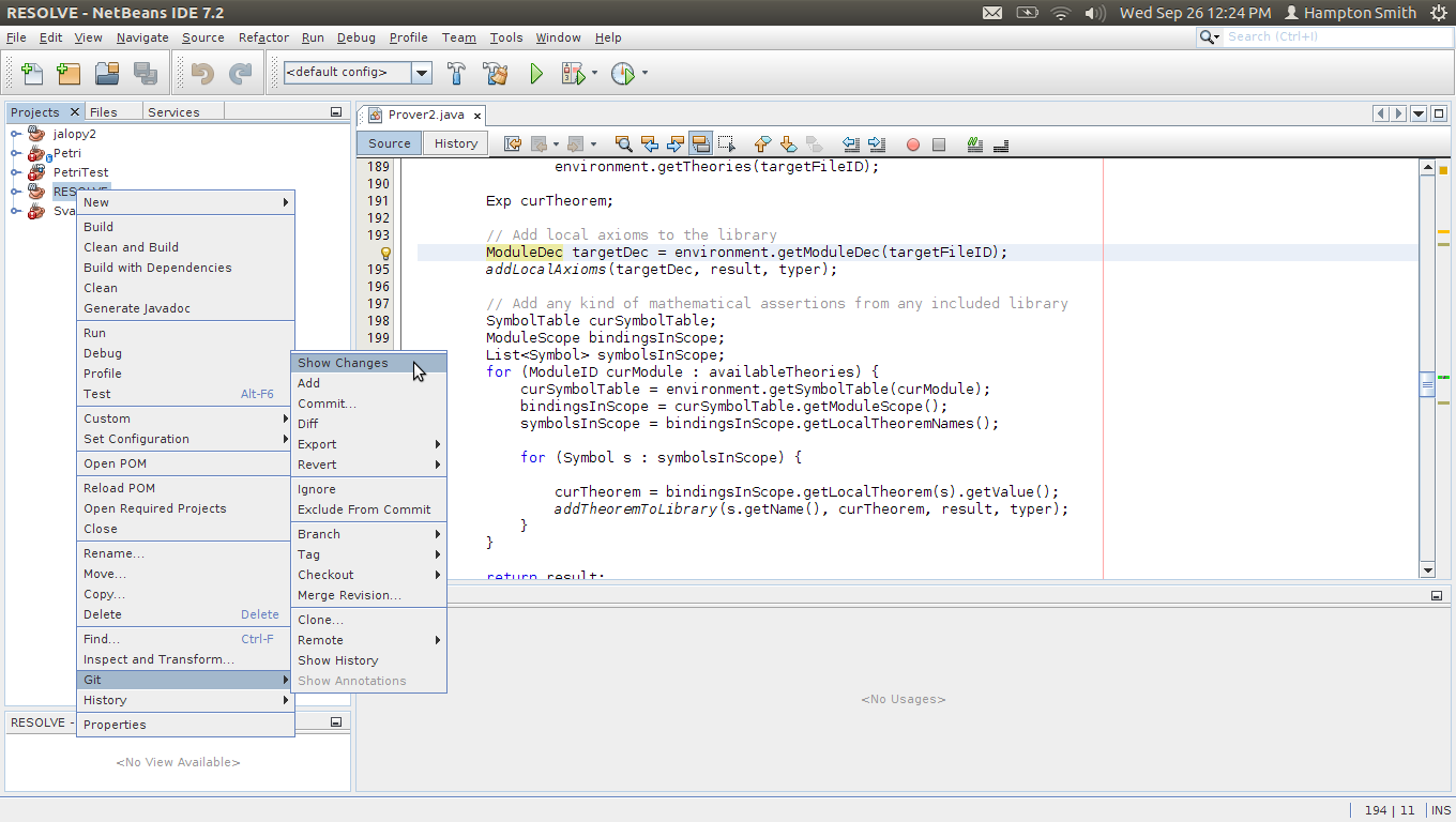 Netbeans development environment clemsonrsrgresolve wiki github in the console area a new tab will display the name of this tab will be git resolve branchname where branchname is the name of your current biocorpaavc Gallery