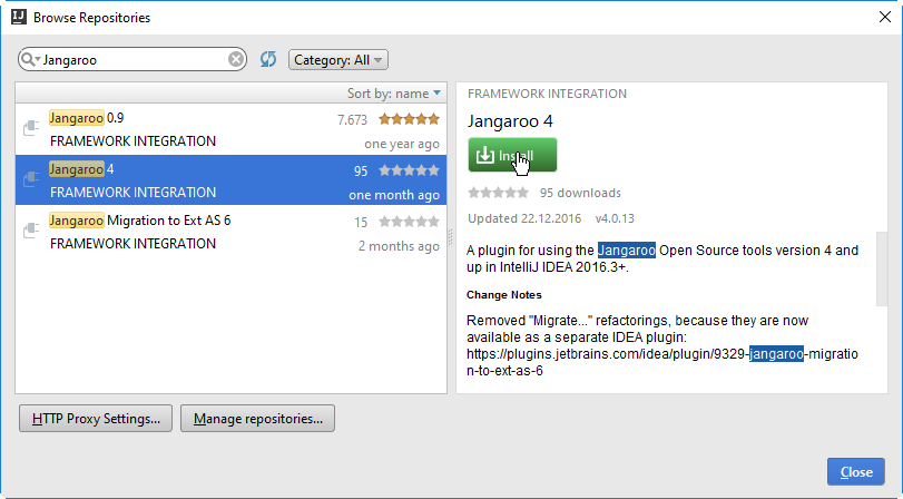 Developing Jangaroo 4 Ext AS 6 Applications with IntelliJ