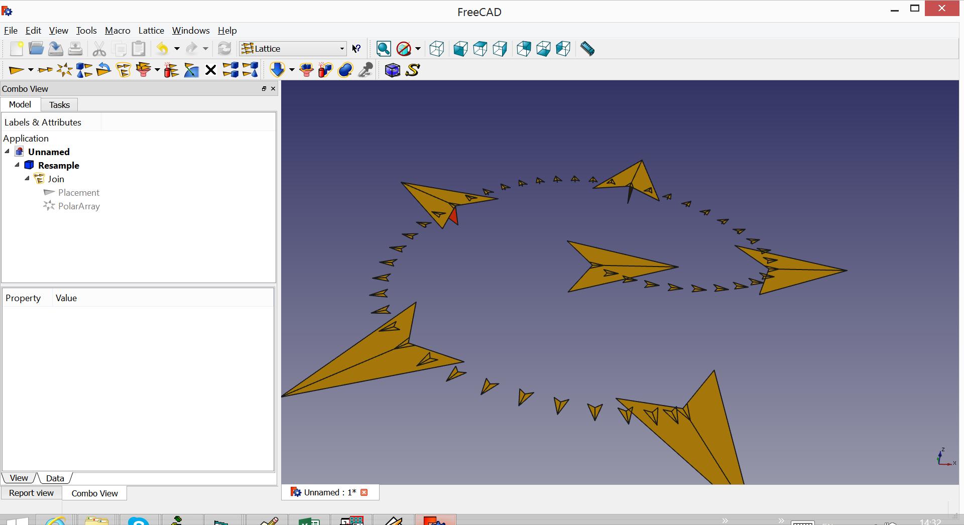 Lattice2-FreeCAD-placement-interpolator