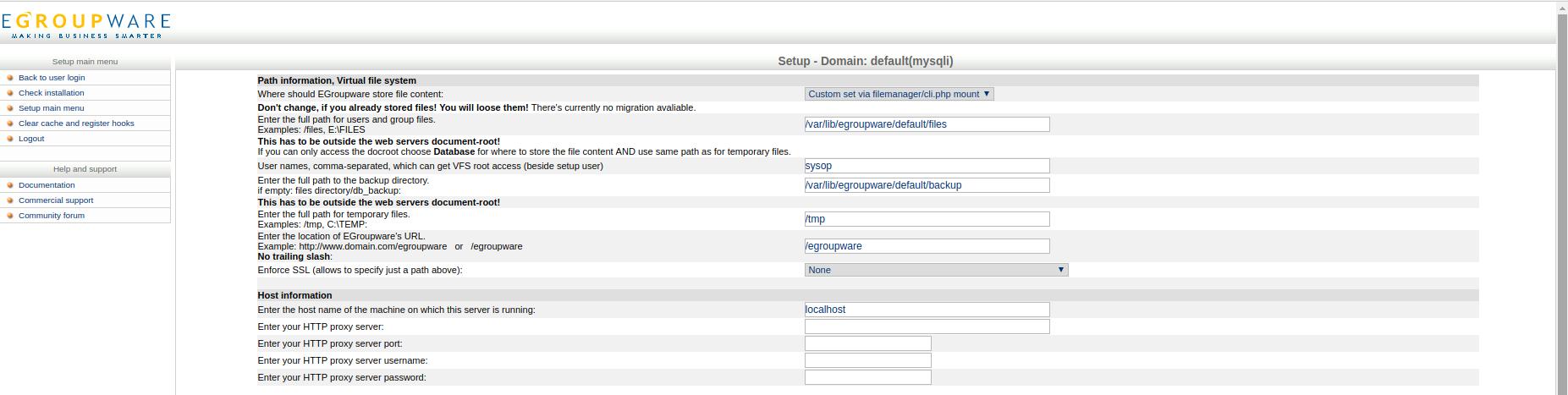 backup Existing Installation · EGroupware/egroupware Wiki · GitHub