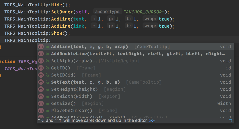 Home · Ellypse/IntelliJ-IDEA-Lua-IDE-WoW-API Wiki · GitHub