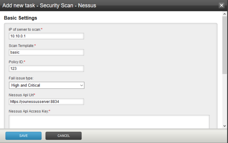 Nessus Scan Task Plugin · Haufe-Lexware/gocd-plugins Wiki
