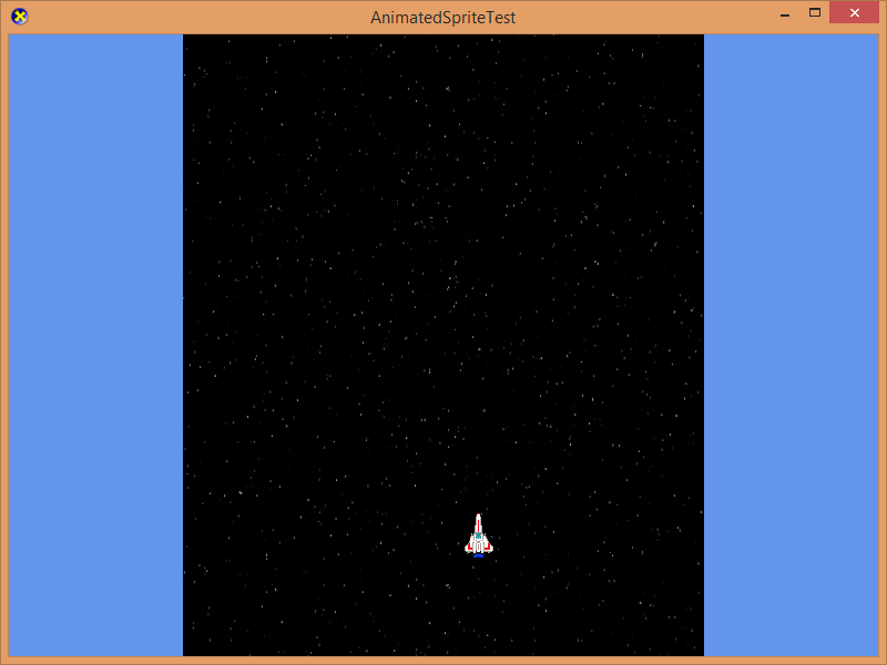 Screenshot of Ship in Space