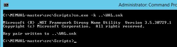 Deploy - Build - SigningKeyGeneration