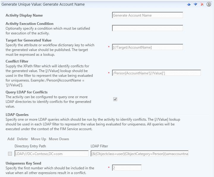 Scenario Generate Unique Account Name 1