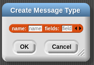Message Type Dialog