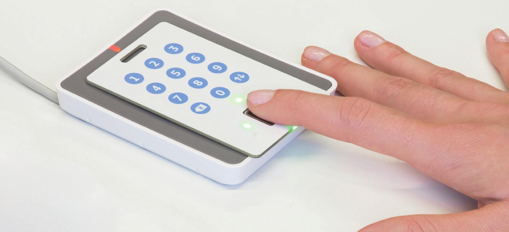 GoID fingerprint card