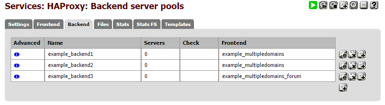 Single frontend serving multiple different domains using