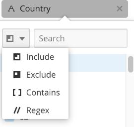 Choosing regex