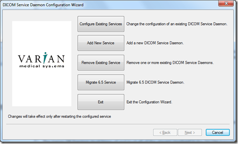 Scripting the Varian DICOM DB Daemon with ESAPI · VarianAPIs/Varian