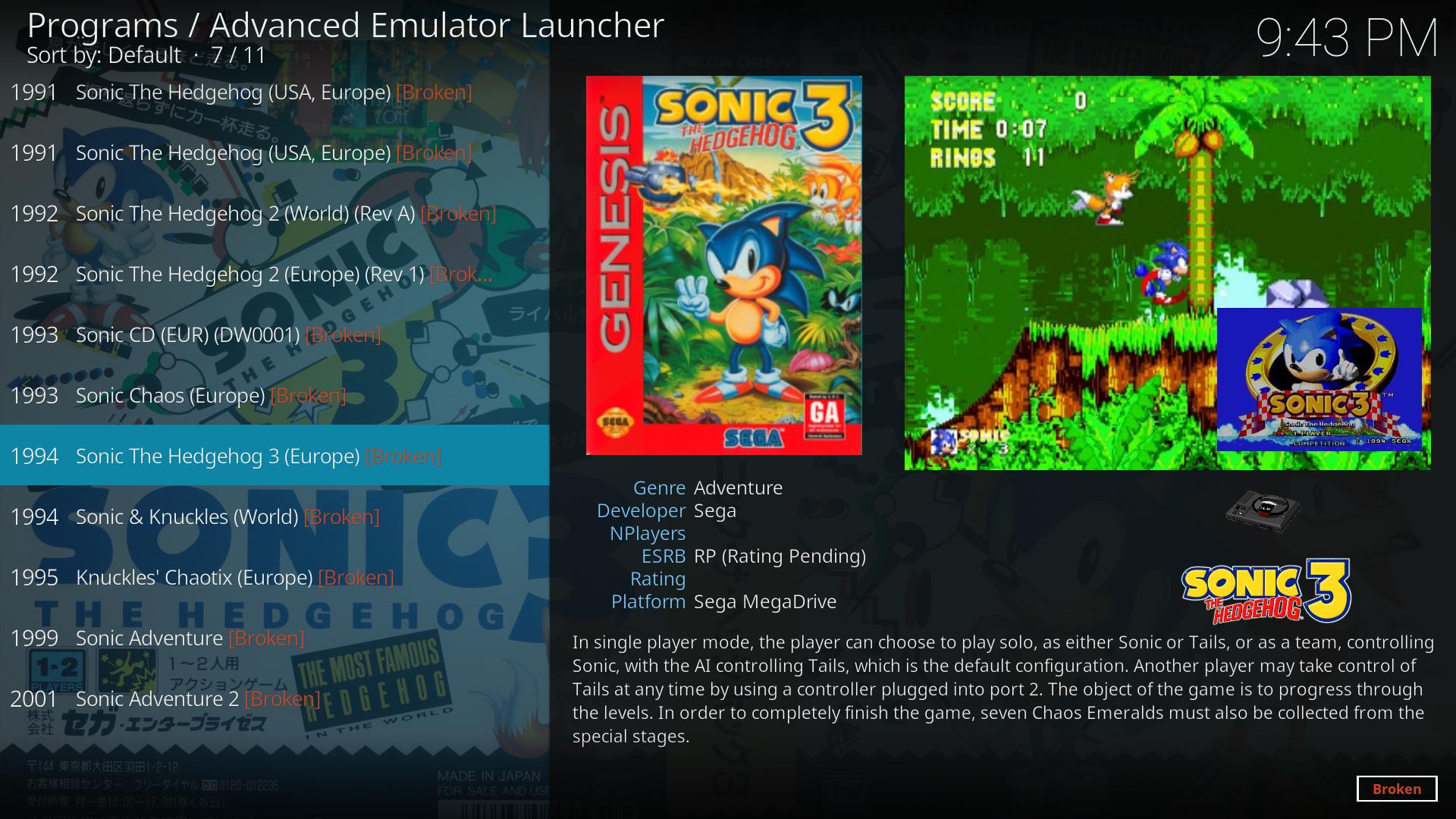 Advanced Emulator Launcher - Multi-emulator frontend for Kodi