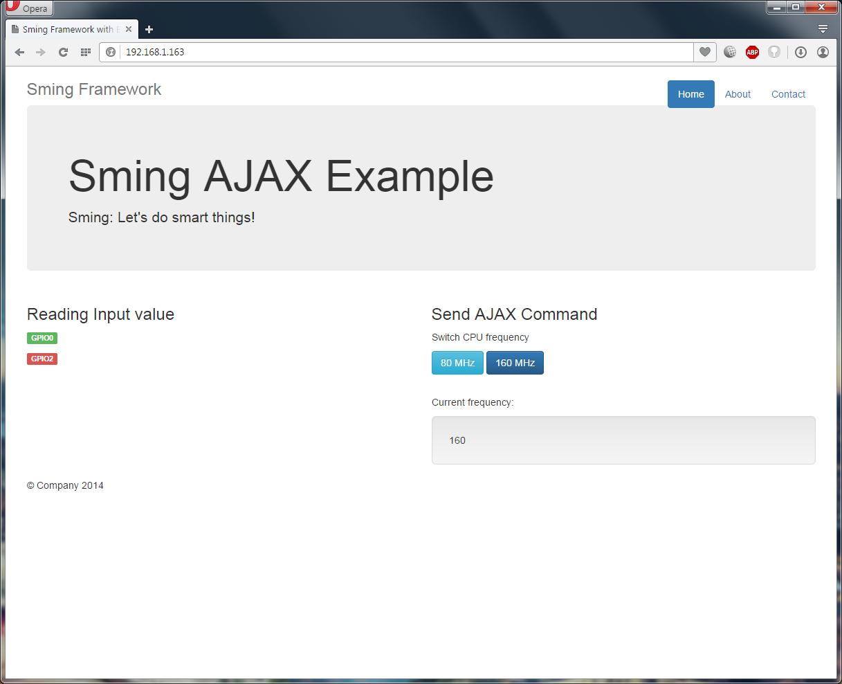 Sming open source framework native esp development