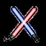 Light Saber Jedi Logo