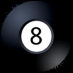 Magic 8 Ball Logo