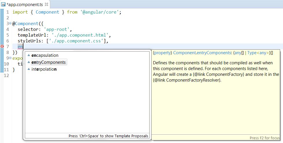 JSDT TypeScript Completion