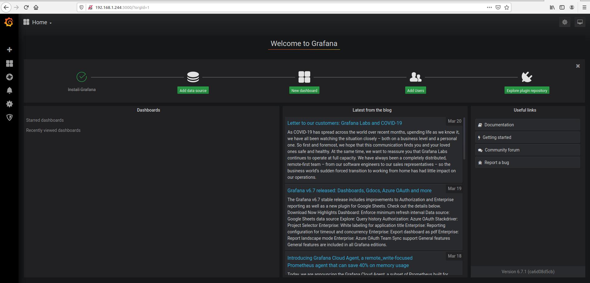 Monitor Ant Media Server with Grafana