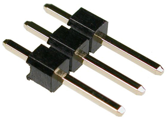 Male Pin Strip 0.1